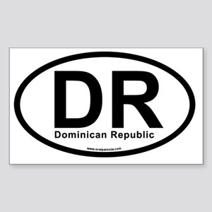 dr_dominicanrepublic Sticker (Rectangle)